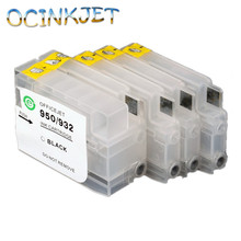 Ocinkjet 932 933 Empty Refillable Ink Cartridge With Chip For HP Officejet Pro 6600 H711a 6100 H611a6700 H711n 7110 7610 7510
