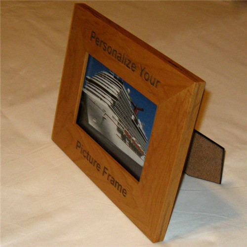 Personalized Wood 8x10 Picture Frame - Custom Engraved
