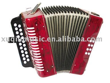 2001 Button Accordion 21K 8BS