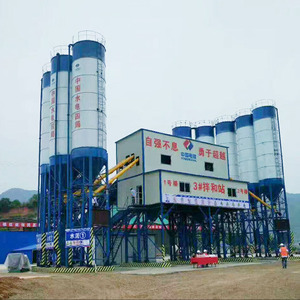 Best quality italian simen concrete batching plant
