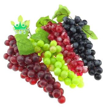 Lmd Lifelike Artificial Black Green Wine Red Grape Faux Artificial Grapes Cluster Home House Christmas Party Decor Buy Artificial Fruits Artificial