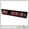 Red LED Programmable Days Hours Minutes Seconds Countdown Timer in LED Display