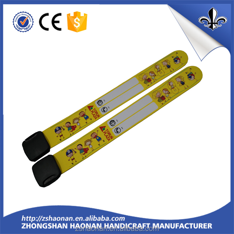 Cheap Custom PVC Reflective Wristband for Promotion Gift