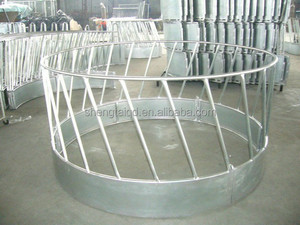 agricultural equipment automatic livestock feeder round horse hay feeder
