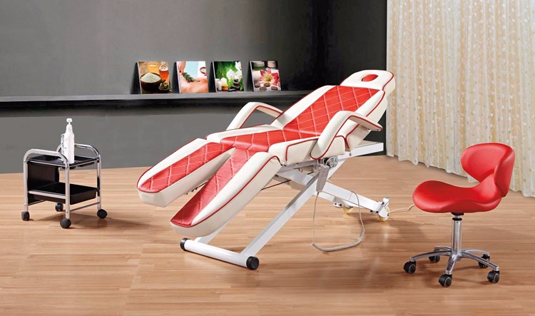 massage electric beauty bed/ beauty salon electric adjustable bed/folding beauty bed 8805