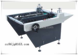 JG-SB-600 machine for turning 2 edge book cover for binders & folders
