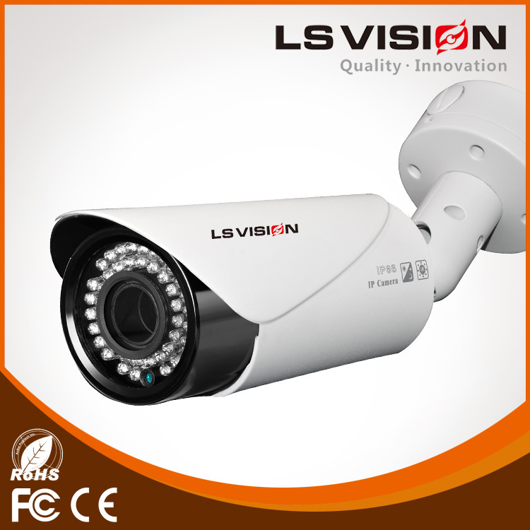 LS VISION 1080p pov wired camera with OSD menu 2.8-12mm vari-focal ir bullet ahd camera