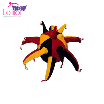 Wholesale Carnival Crazy Foam Top Hats with Horns,Football Game Fans Hats For Adult