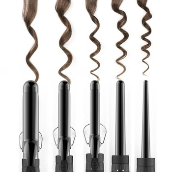 New design factory price hair 5 IN 1 hair curling wand private label hair curler