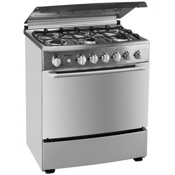 FS76-ES7 FVGOR 30inch 76cm freestanding gas range with 6 burner hot sell gas oven with stainless steel cooktop