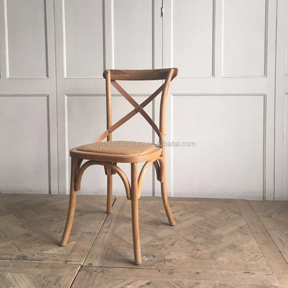 Estilo antiguo rústico muebles de madera restaurante sillas-Sillas ...