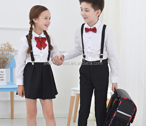 fashion boys and girls school uniform tracksuit