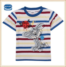 (CA1323) 2-6Y striped kids boy t shirts summer nova factory children clothes fashion export/import kids t shirts