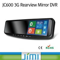 2016 hottest JC600 free client software h.264 dvr 1080P car mp3 android rear mirror