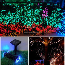 100 LED Solar String Lights Christmas Wedding Party Garden Tree Decoration Fairy Light
