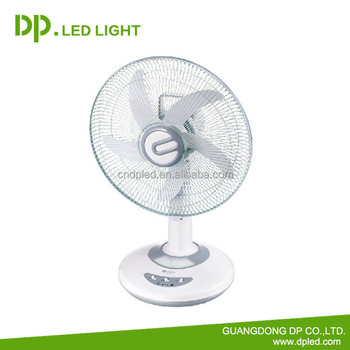 Dp 16 Inch Rechargeable Battery Fan With Led Light