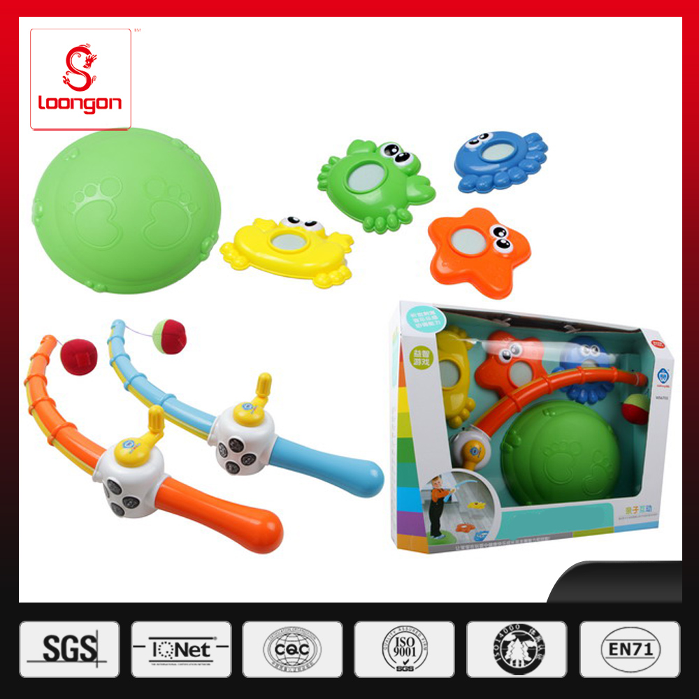 Loongon kid magnetic fishing toy set