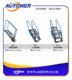 Famous aluminum fold down ladders for gas station
