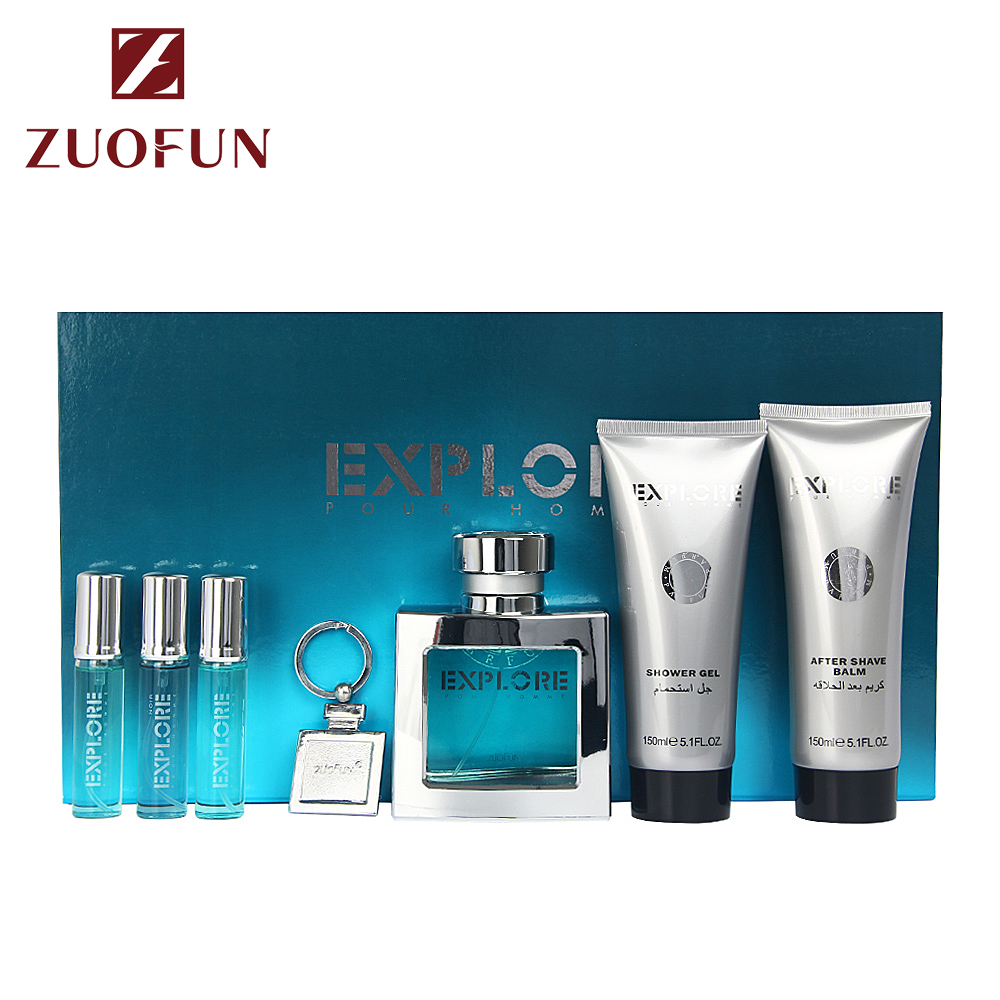 ZuoFun Factory Price High End Perfume For Men Male Use Gift Set Packaging Parfum Arabic