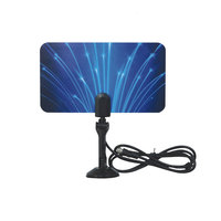 SYTA S5001H Digital Indoor VHF UHF Ultra Thin Flat TV Antenna for HDTV 1080p DTV HD Ready
