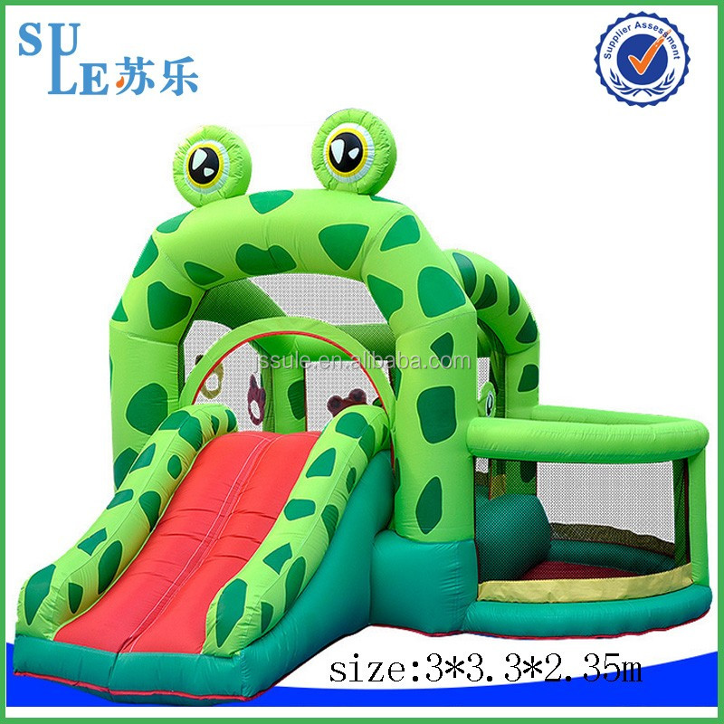 2016 outdoor or indoor most attractive and interesting kids inflatable bouncy castle for sale