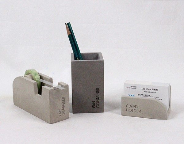 fancy office supplies. luxury office supplies fancy concrete custom plain cement pencil holder f
