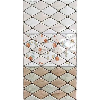 300 450mm Waterproof Bathroom Tile Board Wall