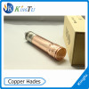 2014 Wholesale hot mechanical mod 26650 copper hades mod/rose v2/manhattan mod