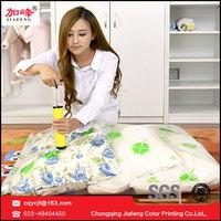 ziploc premium vacuum bag for storing clothes with hand pump
