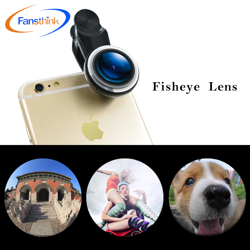 2018 New Product Mobile Phone Accessory Mobile 360 Degree Fisheye Lens Projector For Smartphone Cell Smart New used Mobile Phone