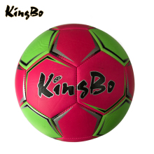 "Bulk in stock 6"" pu leather rubber & butyl bladder customized size colorful soccer balls"