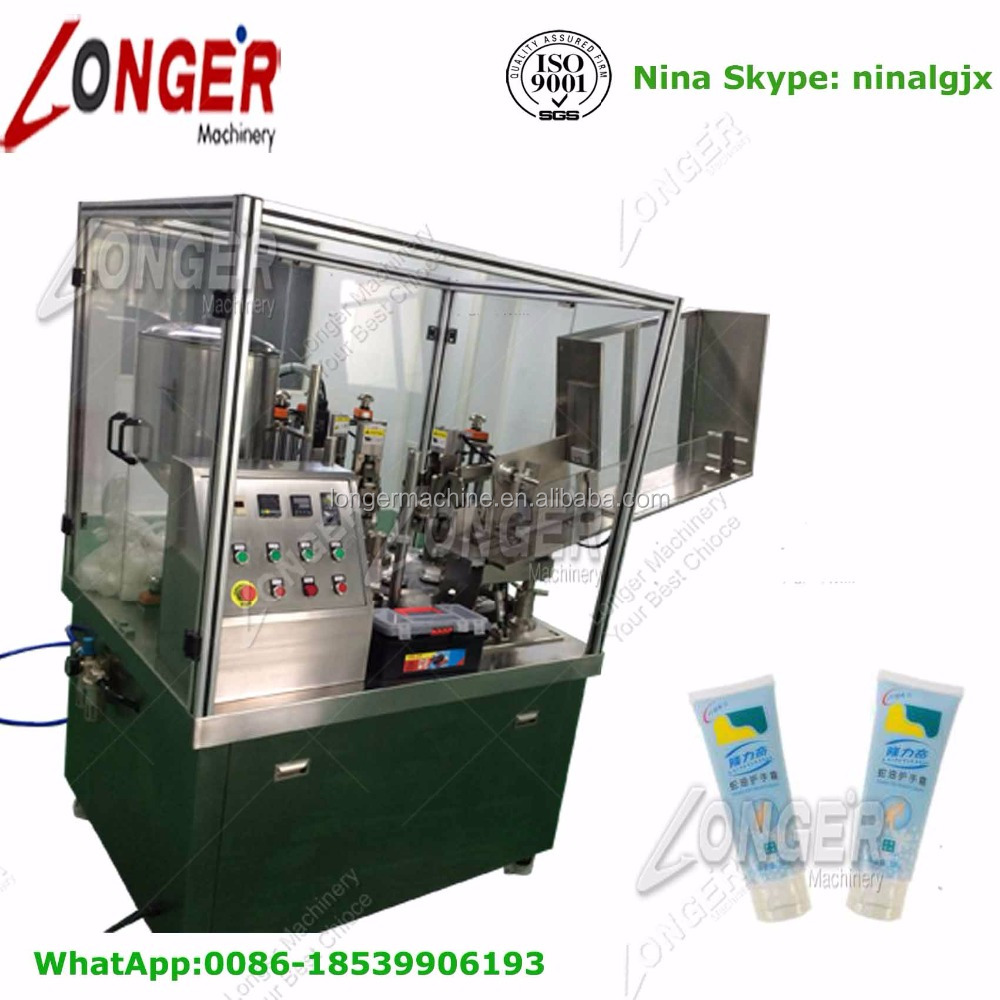 Stainless Steel Chocolate Sauce Tube Filling Machine