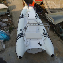 5.4 m pvc deck boat <span class=keywords><strong>rigida</strong></span> scafo in vetroresina gommone rib gommone