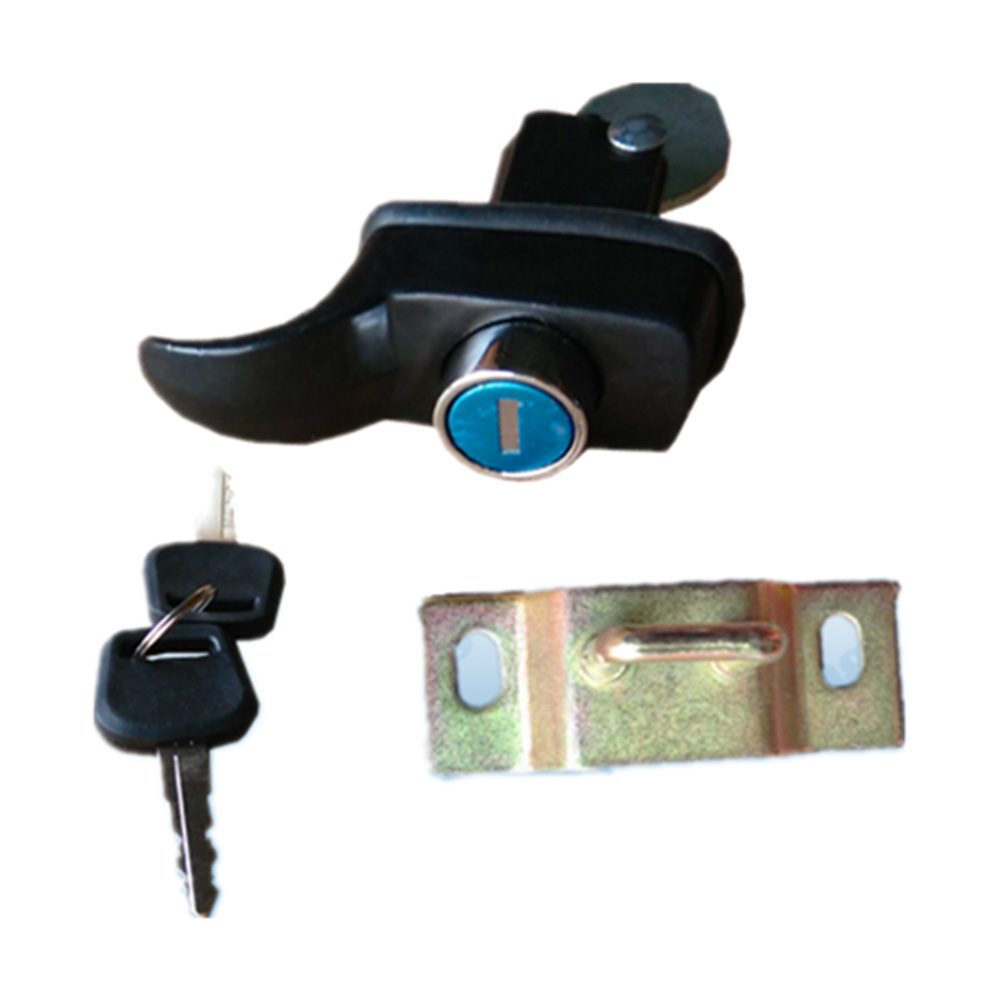 Chromed Painting Bus back warehouse door lock HC-B-10038