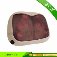 2016 Best selling Seat Cushion Heating kneading waist back thermo massage cushion and Thighs with Heat Therapy