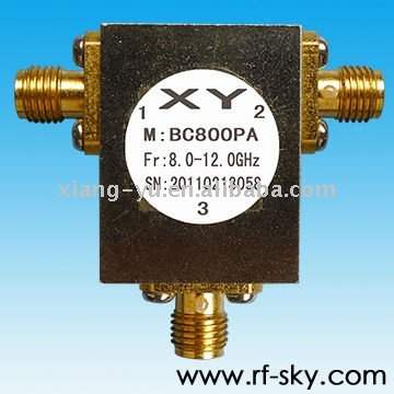 8-12GHz rf Clockwise circulators