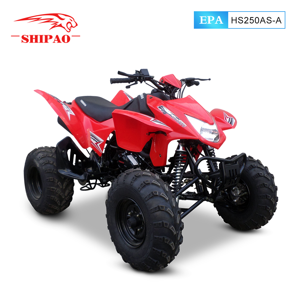 HS250AS-A 250CC sport atv raceing quad with EPA