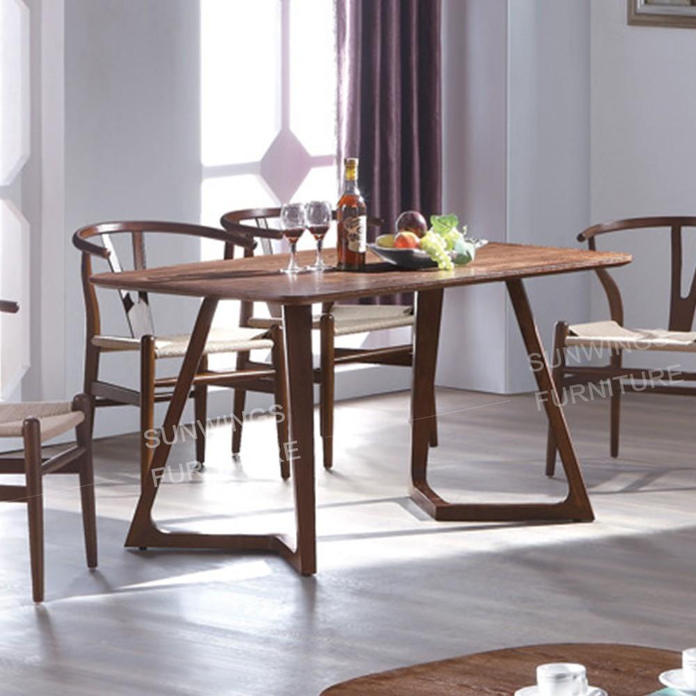 table à manger en bois utilisé restaurant table et chaise pour ... - Chaise Pour Table En Bois