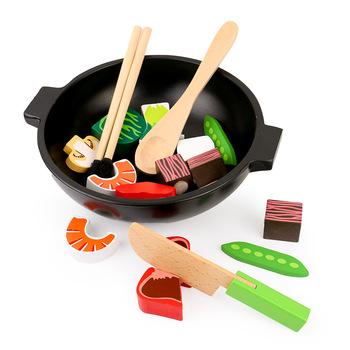 Imaginacion Juguete De Madera Utensilios De Cocina Set De Cocina