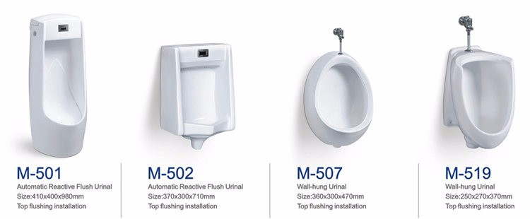 Ceramic wall mounted toilet sink urinal