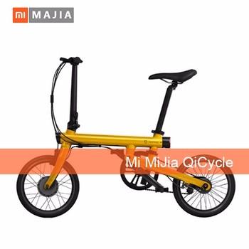 Xiaomi Bike Mi Qicycle 20 Kmh Pieghevole Bluetooth 40 Telefono App Monitor Bicicletta Elettrica Con 18 Pollice Dello Schermo Buy Originale Xiaomi