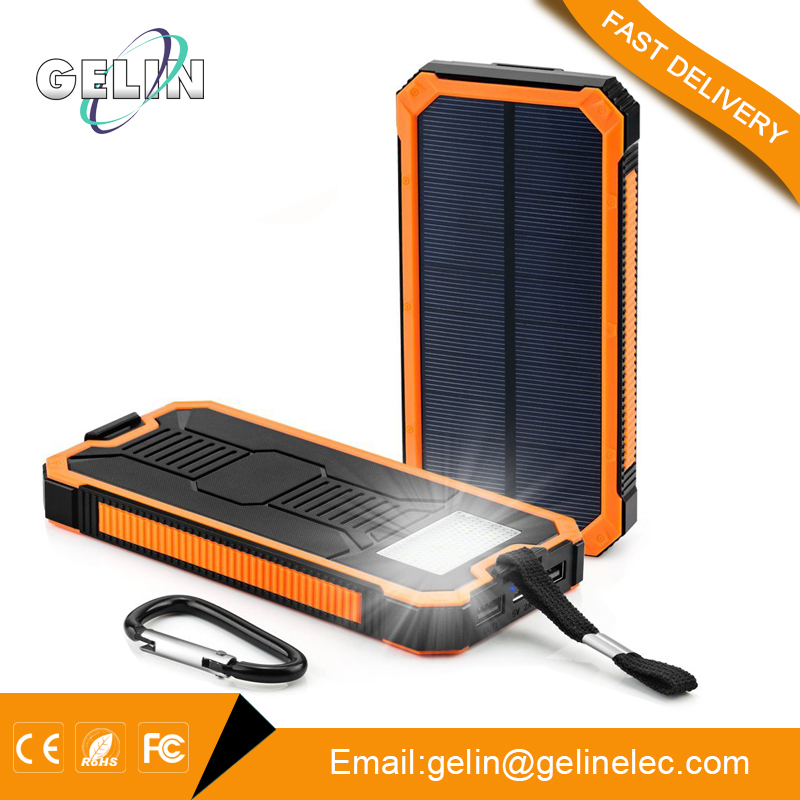 For Retailer Distributor reasonable price best quality 8000mah solar power bank/powerbank