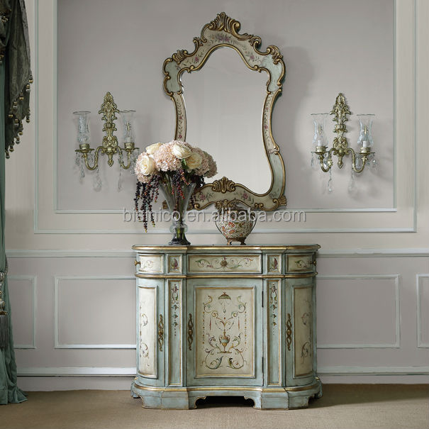 Glorious Art Decor Drawer Console Table Decorative Hand