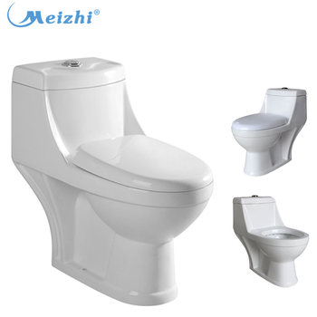 Family Ceramic 3L Flush Indian Pedestal Water Closet Size