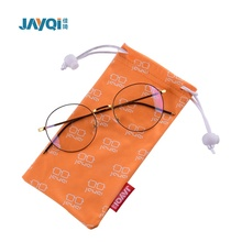 Free sample customized microfibre 일 glasses pouch bag 와 label