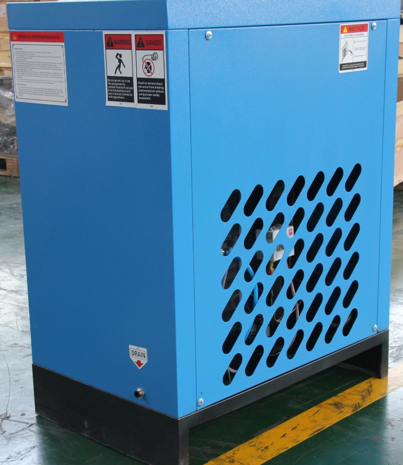 1.5 to 45 m3/min refrigerated air dryer for air compressor
