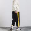 2019 Wholesale Men'S Sport Side Striped Fashion Straight Jogger Sweat pants