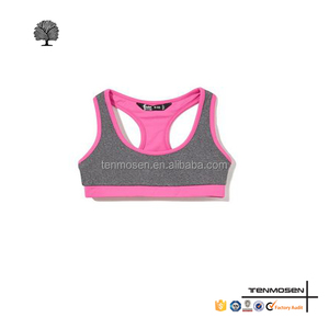 custom made genie sports bra designer blank sports bra for youth girls