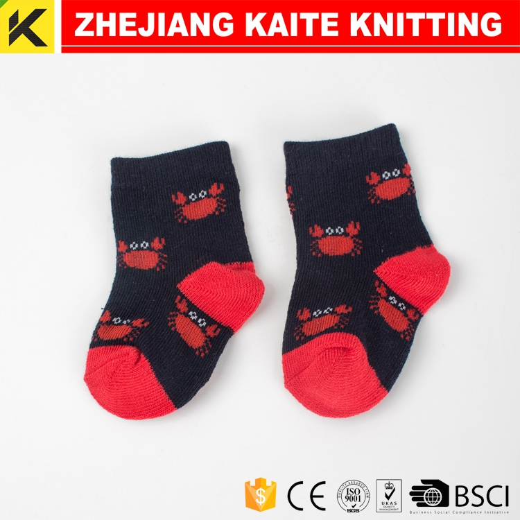 KT-0006 High quality kid and baby sock wholesale baby cotton socks; Asian children and kids sock supplier