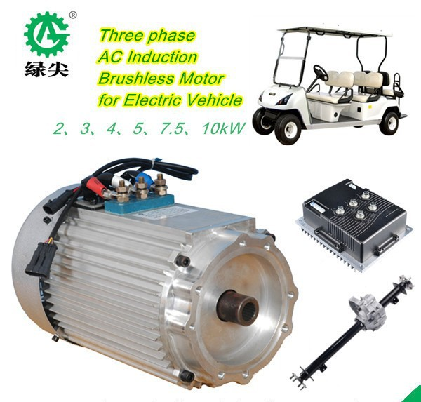 Electric car hub motor 10KW 48V